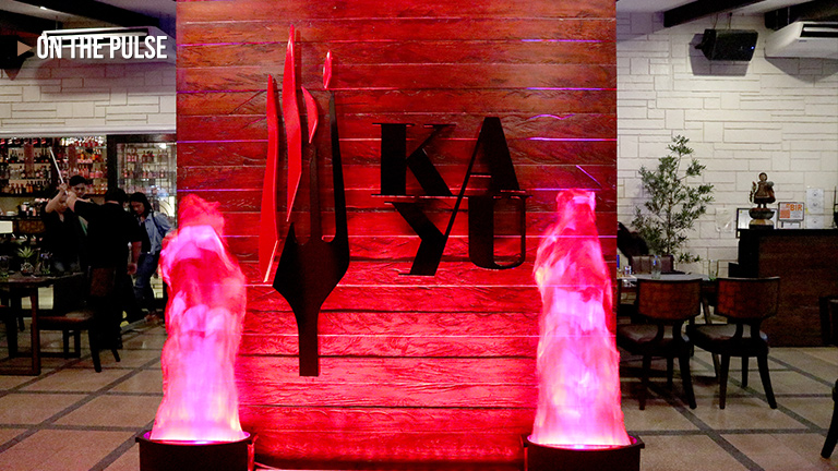 Y101 and Kayu: Kitchen + Bar's HOUSE OF GOLD
