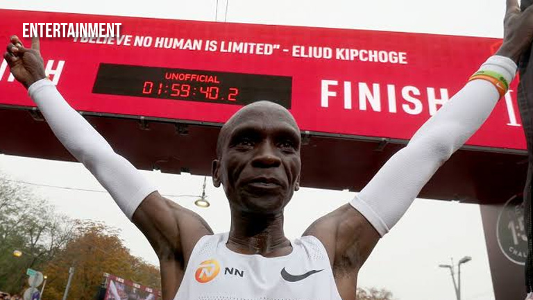Kenyan runner Eliud Kipchoge first to finish marathon in under 2 hours