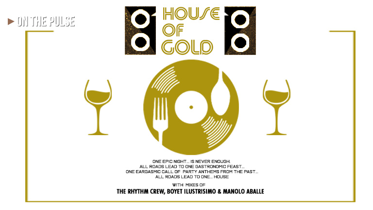 House of Gold #2 features classic house mixes from Boyet