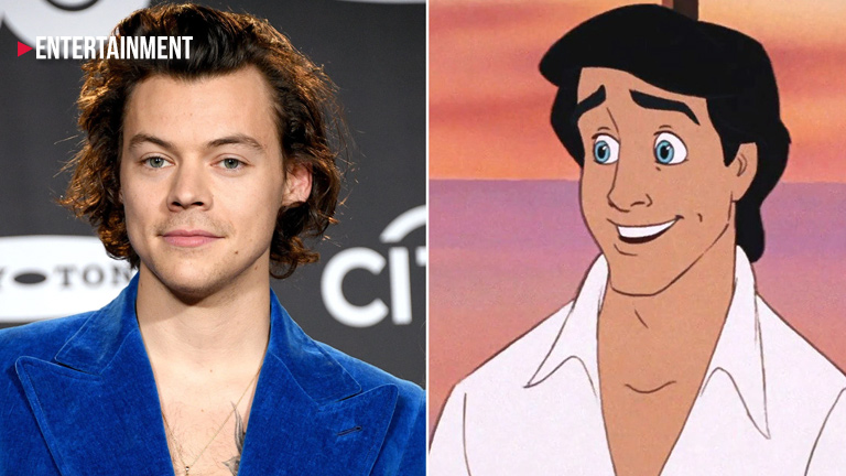 The Real Reason why Harry Styles turned down the role of Prince Eric in 'The Little Mermaid'