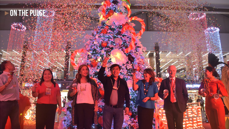 Mactan-Cebu International Airport welcomes the Yuletide season with a Christmas Tree Lighting Ceremony
