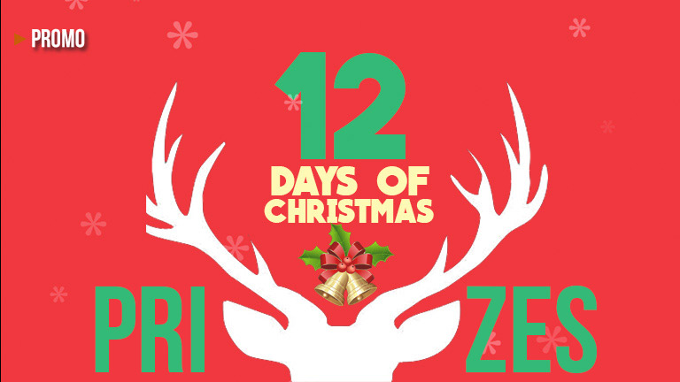 12 Days of Christmas 2017 prizes